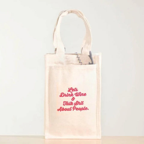 Wine Tote - Let's Drink Wine