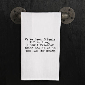 Dish Towel - Bad Influence - The Flying Owl