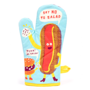 Oven Mitt - Say no to salad - The Flying Owl