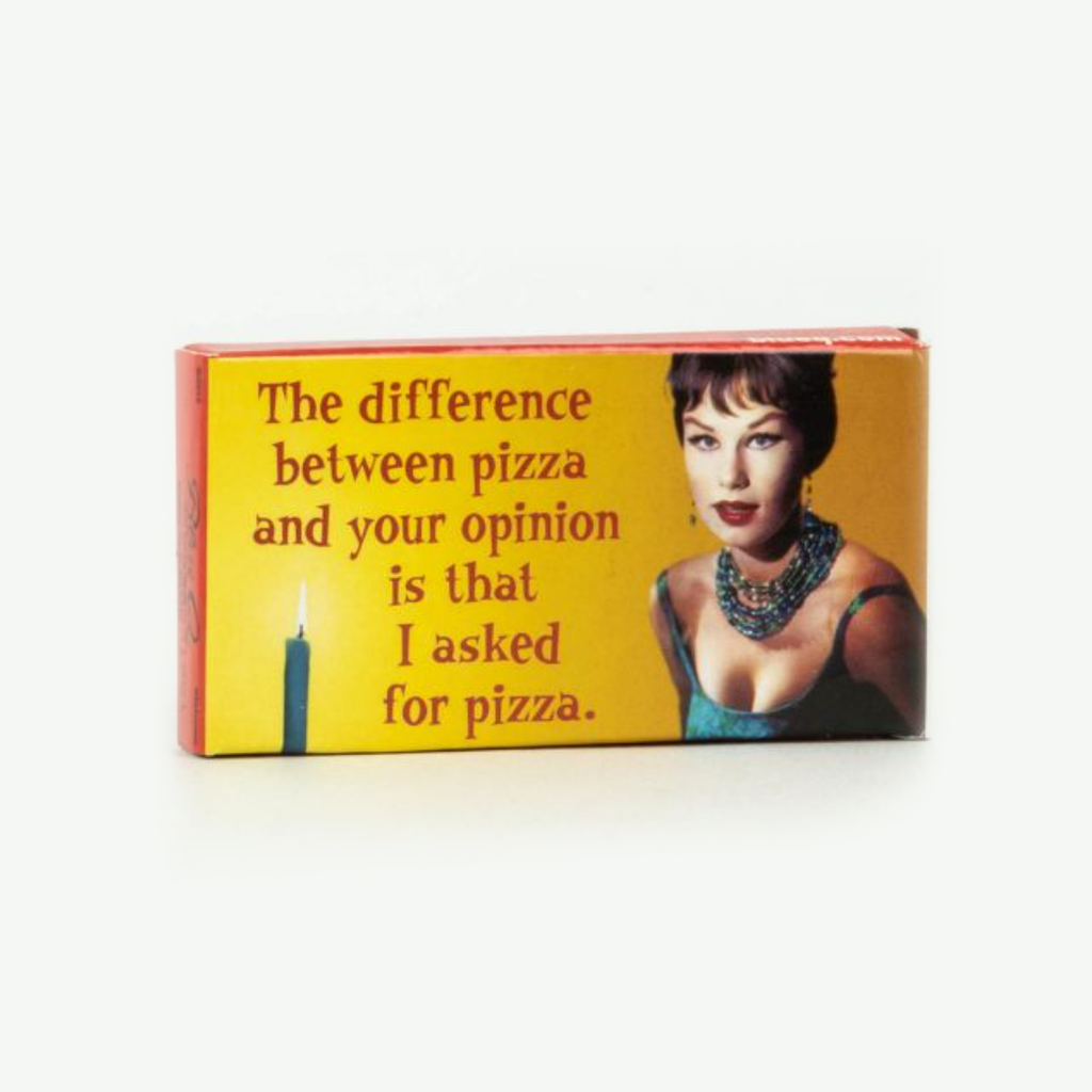 Fun Gum - Difference Between Pizza and Your Opinion - The Flying Owl