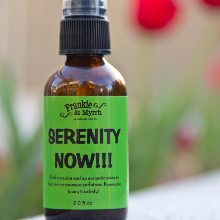 Aromatherapy Sprays - Serenity Now - The Flying Owl