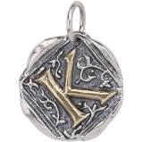 Century Insignia Charm - K - The Flying Owl