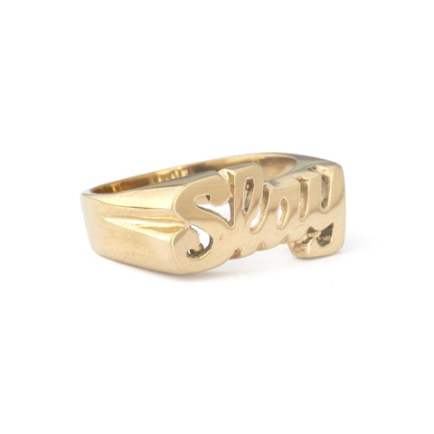 Ring - Slay - Brass