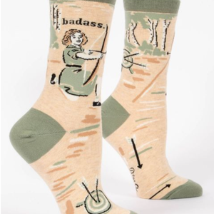 Women's Socks - Badass - The Flying Owl