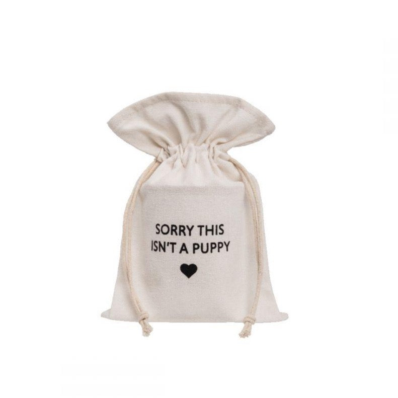 Gift Bag - Sorry This Isn't A Puppy - The Flying Owl