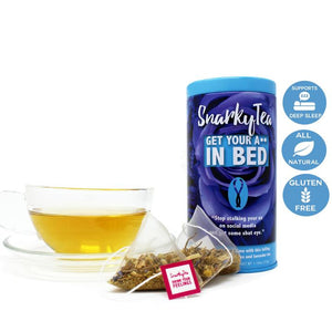 Snarky Tea - Get Your Ass In Bed - The Flying Owl