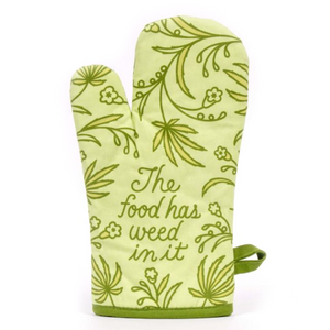 Oven Mitt - This Food Has Weed - The Flying Owl