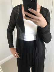 Lightweight Ribbed Cardigan ICHI