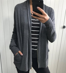 Black Tape Grey Cardi