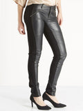 Nu Denmark Faux Leather Trousers