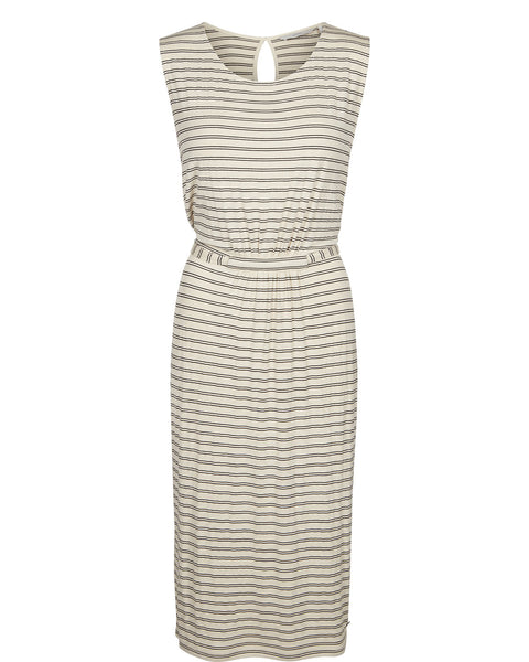 Maddy Stripe Jersey Dress by NUMPH - SWALK Fashion