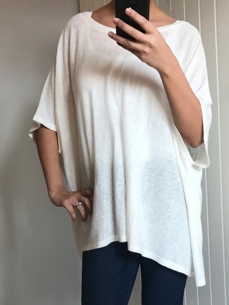 Cream Kimono Style Top by MOUTAKI - SWALK Fashion
