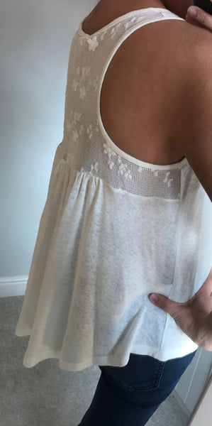 Vest Top Floaty With Detail Back by MOUTAKI