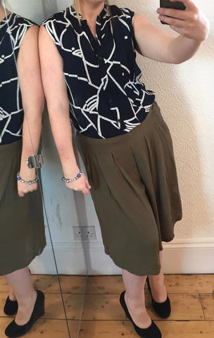 Janetta Olive Culottes by NUMPH - SWALK Fashion