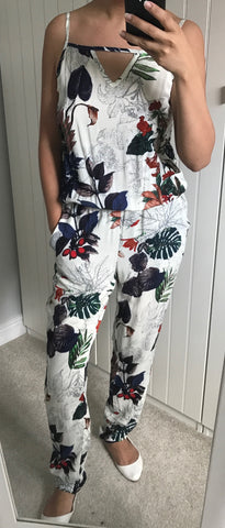 Tropical Pattern Jumpsuit by NU DENMARK - SWALK Fashion