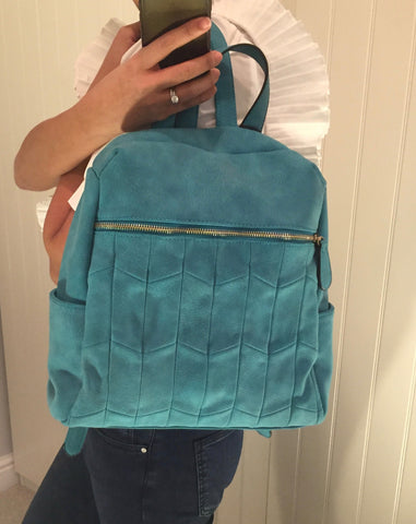 Teal Detail Backpack by LAVAND