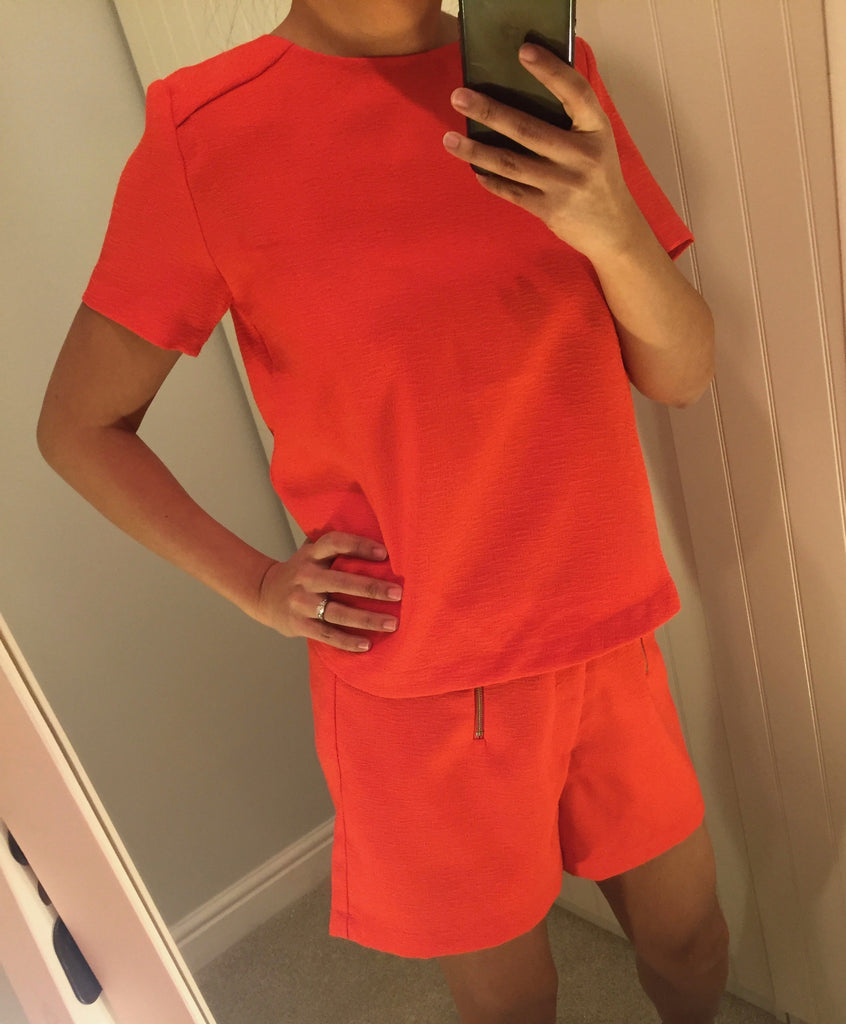 Coral Short Sleeve Top by LAVAND - SWALK Fashion