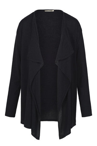 Black Waterfall Cardigan by ARMEDANGELS - SWALK Fashion