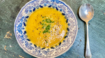 CARROT AND ORANGE SOUP - SERVES 4