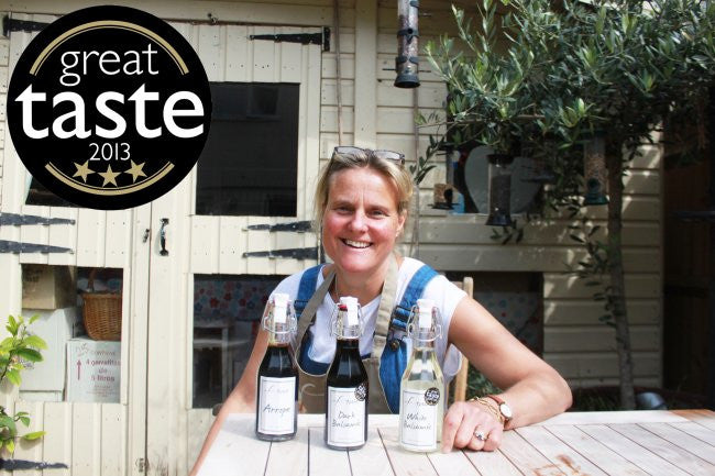 3 STAR GREAT TASTE AWARD FOR FINE DARK BALSAMIC - AUGUST 2013