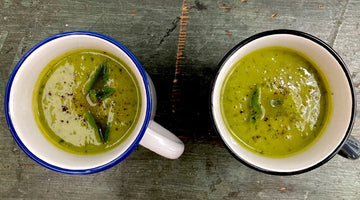 GOOD OLD PEA AND MINT SOUP - serves 4/6