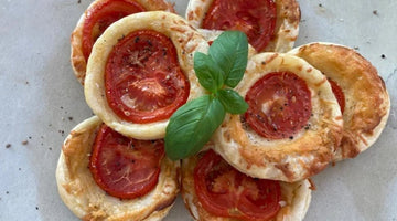 TOMATO AND MANCHEGO TARTLETS - makes 16