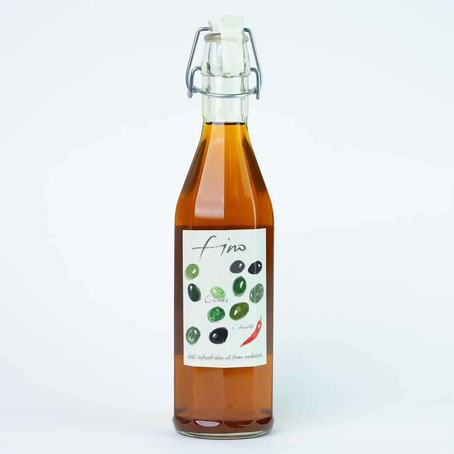 SPANISH CHILLI INFUSED OLIVE OIL - 500ML