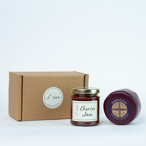 Cheese and Jam Gift Box