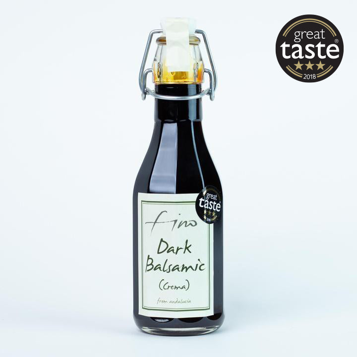 GREAT TASTE AWARD WINNING SPANISH DARK BALSAMIC (CREMA) AGED FOR 25 YEARS - 250ML
