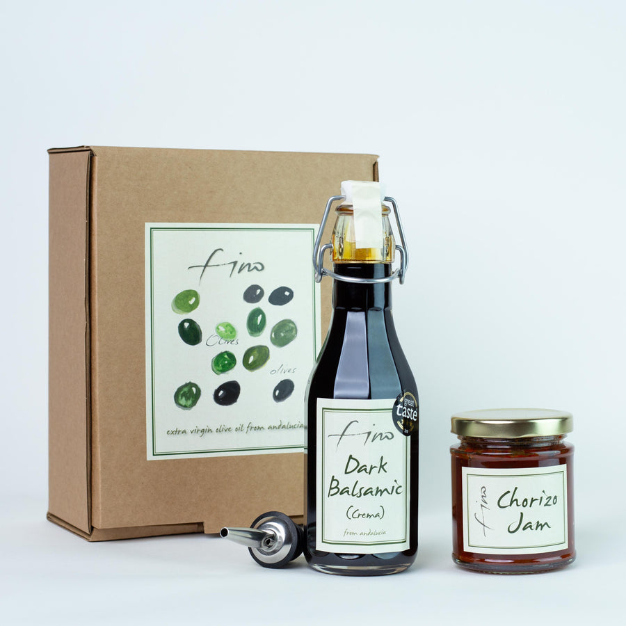 Bottle and Jam Gift Box