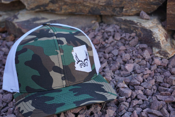Fat Boys Outdoors Old School Camo Hat