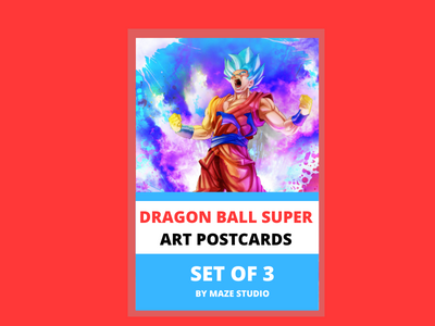 DRAGON BALL SUPER (1) ART CARDS