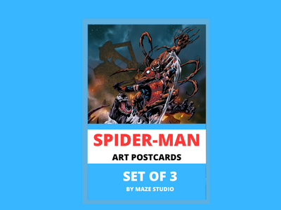 SPIDER-MAN ART CARDS