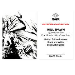 [Limited] HELL SPAWN-B&W