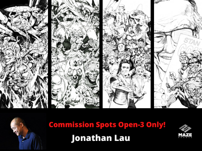 Commission Slot- Jonathan Lau (3 only!)