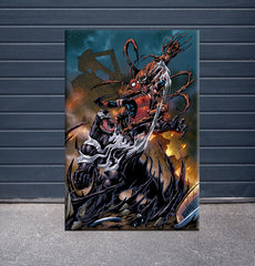 [Canvas] Spider-Man vs Symbiotes