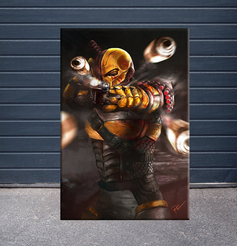 [Canvas] Deathstroke