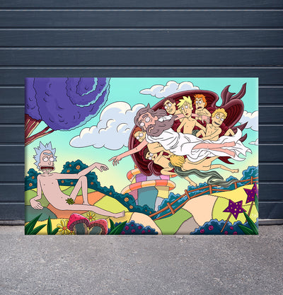[Canvas] Creation of Rick