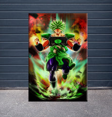 [Canvas] Splatter Broly