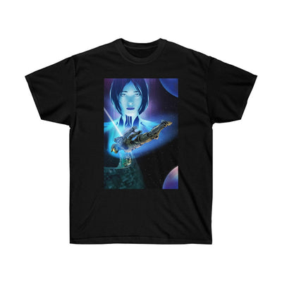 Masterchief and Cortana [Unisex Ultra Cotton Tee]