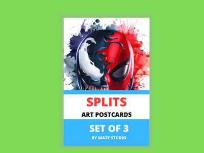 SPLIT ART CARDS