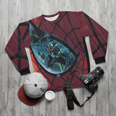 Venom and Carnage [AOP Unisex Sweatshirt]