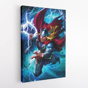 Lord of Thunder! [Canvas 12x18]