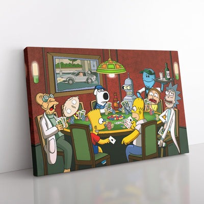 Poker Night [Canvas 24x36]