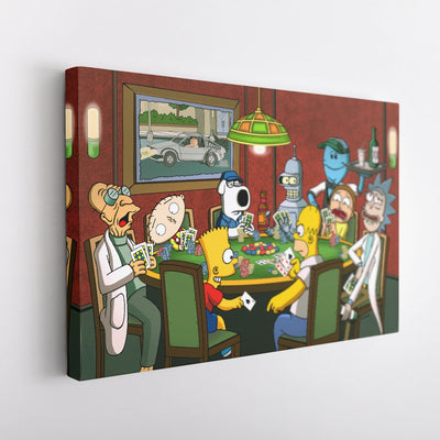 Poker Night [Canvas 12x18]