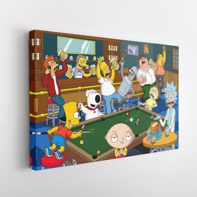 Moe's Bar [Canvas 12x18]