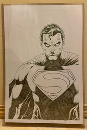 Superman Original Pencils  by Tirso Llaneta