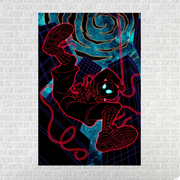 Cosmic Miles Morales [12x18 Canvas]