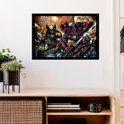 Wolverine vs Deadpool[18x24 Poster]