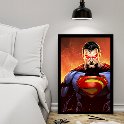 Man of Steel[18x24 Poster]